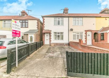Thumbnail 3 bedroom end terrace house for sale in Sproughton Road, Ipswich
