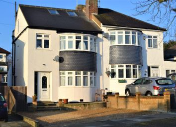 Thumbnail 4 bed semi-detached house for sale in Gallants Farm Road, East Barnet