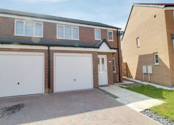 Thumbnail 3 bed semi-detached house for sale in Cornwall Way, Blyth, Northumberland