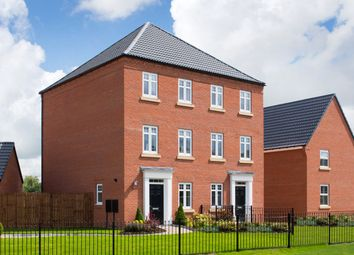 "Thumbnail 3 bed semi-detached house for sale in ""Cannington"" at Sandbeck Lane, Wetherby"