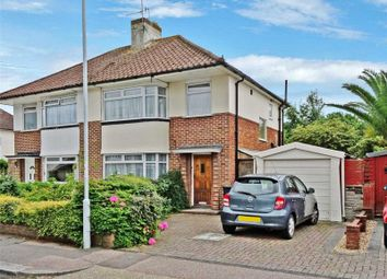Thumbnail 3 bedroom semi-detached house for sale in Broadwater Way, Broadwater, Worthing