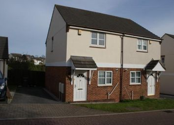 Thumbnail 2 bed semi-detached house to rent in Kintyre Close, Torquay