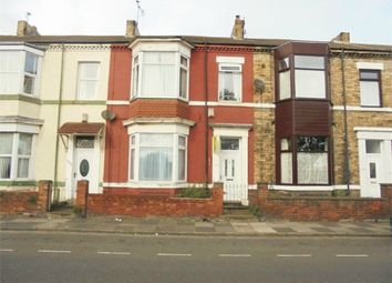 Thumbnail 4 bed terraced house for sale in Coatham Road, Redcar, North Yorkshire