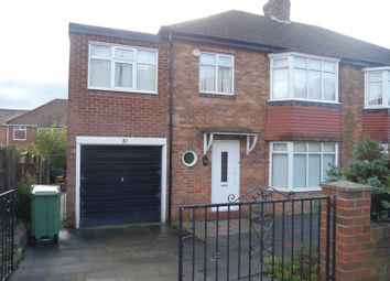 Thumbnail 4 bed semi-detached house to rent in Ridgeway, Fenham, Newcastle Upon Tyne