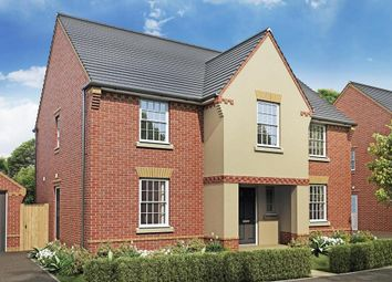 """Thumbnail 4 bedroom detached house for sale in """"Winstone"""" at Monkerton Drive, Pinhoe, Exeter"""