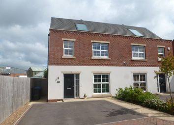 Thumbnail 3 bed semi-detached house for sale in Burton Street, Market Harborough