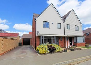 Thumbnail 3 bed semi-detached house for sale in Parker Road, Wootton, Bedford