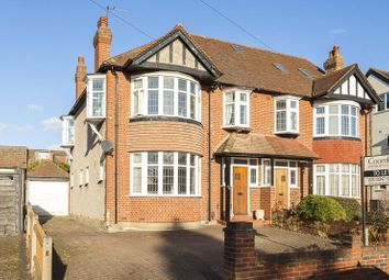 Thumbnail 3 bed semi-detached house to rent in Buxton Drive, New Malden, Surrey