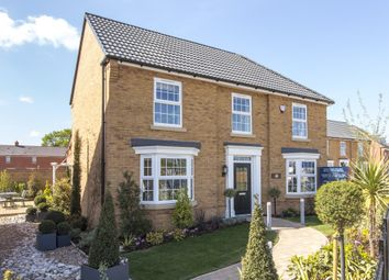 "Thumbnail 4 bedroom detached house for sale in ""Eden"" at Station Road, Langford, Biggleswade"