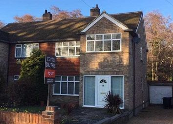 Thumbnail 3 bed semi-detached house to rent in Woodhurst Drive, Denham, Uxbridge