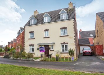 Thumbnail 5 bed detached house for sale in Heol Y Cwrt, North Cornelly, Bridgend