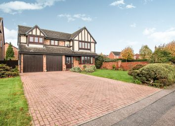 Thumbnail 4 bed detached house for sale in Holford Way, Luton