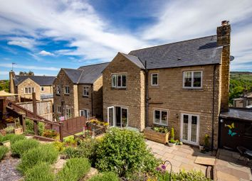 Thumbnail 5 bed detached house for sale in Ryestone Drive, Ripponden, Sowerby Bridge