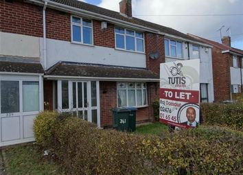 Thumbnail 3 bed terraced house to rent in Beake Avenue, Coventry