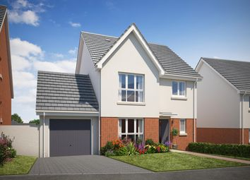 Thumbnail 4 bedroom detached house for sale in Teignmouth Road, Kingsteignton, Newton Abbot, Devon