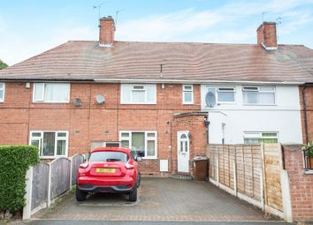 Thumbnail 3 bed terraced house for sale in Minver Crescent, Aspley, Nottingham