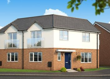 "Thumbnail 3 bed property for sale in ""The Mulberry At Kings Park, Corby"" at Gainsborough Road, Corby"