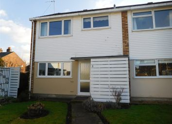 Thumbnail 3 bed end terrace house for sale in Elmstead Close, Riverhead, Sevenoaks