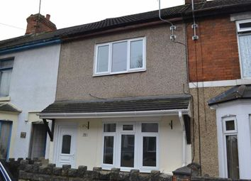 Thumbnail 3 bed terraced house to rent in Caulfield Road, Swindon