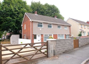Thumbnail 2 bed semi-detached house to rent in Wern Bank, Neath
