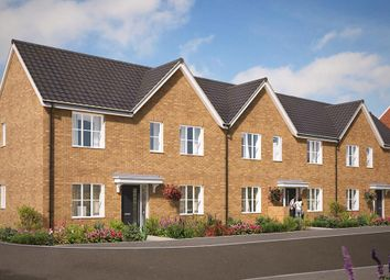 "Thumbnail 3 bed end terrace house for sale in ""The Dalton"" at Great Melton Road, Hethersett, Norwich"