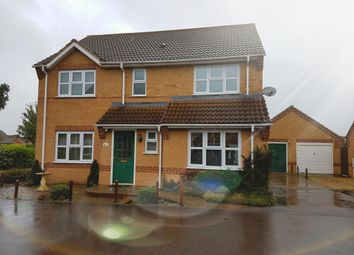 Thumbnail 4 bed detached house to rent in Briscoe Way, Lakenheath