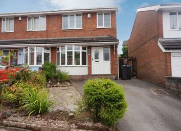 Thumbnail 3 bed semi-detached house for sale in Mill Close, Caverswall, Stoke-On-Trent, Staffordshire