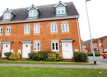 Thumbnail 3 bedroom end terrace house for sale in Robin Road, Oakley Vale, Corby