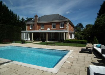 Thumbnail 5 bed detached house to rent in Cross Road, Sunningdale, Ascot