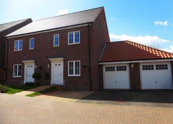 Thumbnail 3 bed semi-detached house for sale in Samuel Courtauld Avenue, Braintree