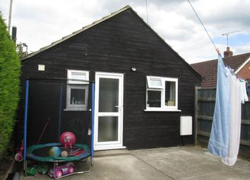 Thumbnail 1 bed bungalow to rent in New Bridge Road, Upwell, Wisbech