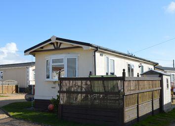 Thumbnail 1 bed mobile/park home for sale in Slipper Park, Slipper Road, Emsworth