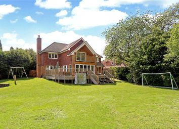 Thumbnail 5 bed detached house for sale in Stream Farm Close, Lower Bourne, Farnham, Surrey