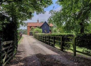 Thumbnail 4 bed detached house for sale in Gallows Hill, Redgrave, Diss