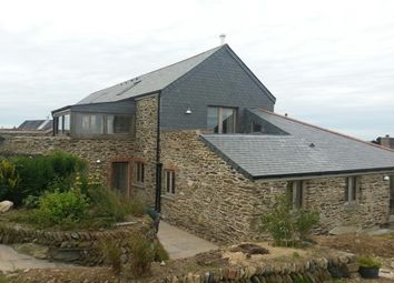 Thumbnail 5 bed farmhouse to rent in Portloe, Truro