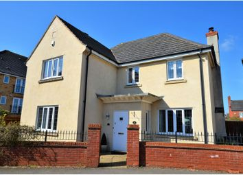 Thumbnail 4 bed detached house for sale in Berrywood Drive, Northampton