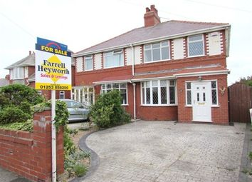 Thumbnail 3 bed property for sale in Norbreck Road, Thornton Cleveleys