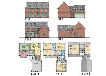 Thumbnail 4 bedroom detached house for sale in Willow Lane, Rugby