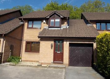 Thumbnail 3 bed link-detached house to rent in Heol Celynen, Coed-Y-Cwm, Pontypridd