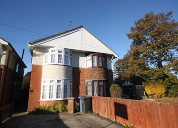 Thumbnail 3 bedroom semi-detached house to rent in Norwich Road, Ipswich, Suffolk