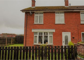 Thumbnail 3 bed end terrace house for sale in Knockalla Park, Derry / Londonderry