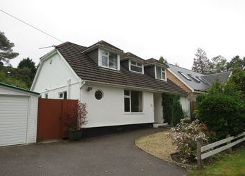 Thumbnail 4 bed bungalow to rent in Beaufoys Avenue, Ferndown