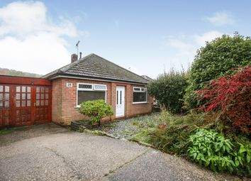 Thumbnail 2 bed bungalow for sale in The Knoll, Dronfield