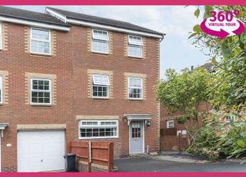 Thumbnail 4 bedroom end terrace house for sale in Chirk Close, Coedkernew, Newport