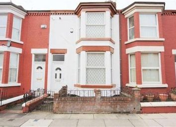 Thumbnail 3 bedroom terraced house for sale in Cranbourne Road, Wavertree, Liverpool