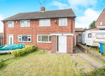 Thumbnail 3 bed semi-detached house for sale in Tennyson Drive, Worksop