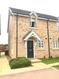 Thumbnail 2 bed semi-detached house for sale in Hastings Cresent, Shortstown, Bedford, Bedfordshire