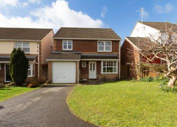 Thumbnail 4 bed detached house for sale in St. Marys Close, Chudleigh, Newton Abbot