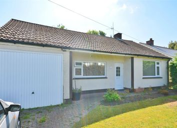Thumbnail 3 bed detached bungalow for sale in Bedwas Road, Caerphilly