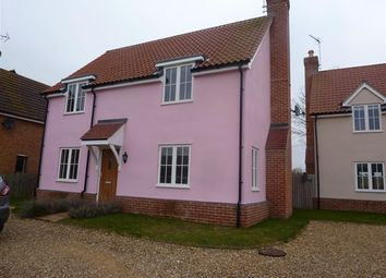 Thumbnail 4 bed detached house to rent in The Street, Icklingham, Bury St. Edmunds